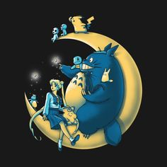 Check out this awesome 'Moonlight+Buddies' design on @TeePublic!
