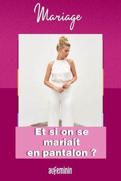 Si la robe fait toujours autant rêver les futures mariées, le pantalon n'est pas en reste ! Combinaison, smoking... Se marier en pantalon n'a jamais été aussi tendance, la preuve. /// #mariage #wedding #pantalon #smoking #robedemariée #mariée #combinaison #aufeminin Smoking, Movie Posters, Inspiration, Wedding Bride, White Dress, Biblical Inspiration, Film Poster, Tobacco Smoking, Billboard