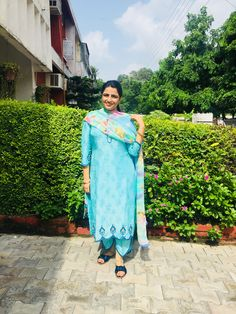 Embroidery Suits Punjabi, Embroidery Suits Design, Embroidery Dress, Latest Punjabi Suits Design, Designer Punjabi Suits Patiala, Dress Design Sketches, Frock For Women, Boutique Suits, Indian Designer Outfits