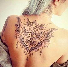 #Tattoos #Female #back