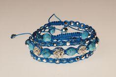 Blue turquoise set bracelet talisman amulet turquoise amulet set bracelet Blue gift Christmas New Year's Valentine's Day stylish gift woman