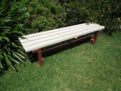 Vintage Timber Park Bench Seat