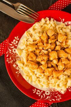 Csirkemellpaprikás galuskával recept