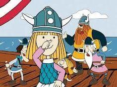 La serie de Viky el vikingo
