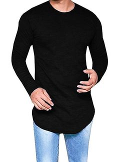 Satva Women's Black Long Sleeve Oversized Hoodie Tunic Top Organic Cotton Size L Clothing, Shoes & Accessories