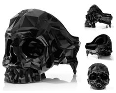 Skull chair by Harold Sangouard.