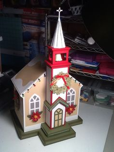 Church from Silent Night set from SVG Cuts files