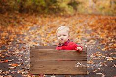 Adorable fall mini session