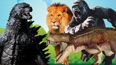 """My Cute Dino Attack Cartoon #1 (T Rex Super Hero vs. Dino Monster Truck..."