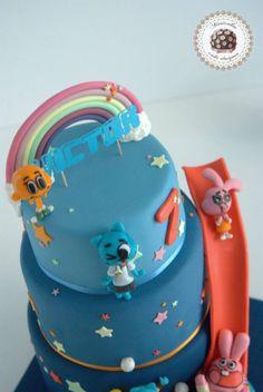 The Amazing World of Gumball - Mericakes - Cake by Mericakes - CakesDecor