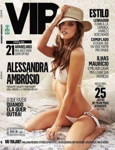 Top Alessandra Ambrosio estrela da Vip