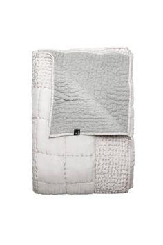 DELIA Bedspread in silk and cotton | HIMLA