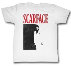 Scarface The Eyes Chico They Never Lie Licensed Adult T Shirt Classic Movie