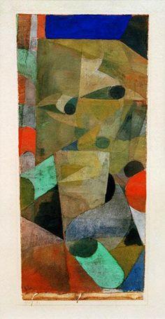 Paul Klee - Blick des Daemons, 1917, 1.