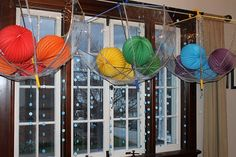 cear umbrella's to catch bursts of colors - love this idea- i'm thinking St Patty's day party :)