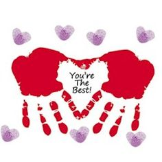 July is Parent's Day. This card is perfect for all kinds of parent's. More handprint crafts at Parent's Day Handprint Card. July is Parent's Day. This card is perfect for all kinds of parent's. More handprint crafts at Valentine's Day Crafts For Kids, Valentine Crafts For Kids, Fathers Day Crafts, Baby Crafts, Valentines Diy, Toddler Crafts, Preschool Crafts, Holiday Crafts, Art For Kids