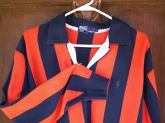 Vintage Ralph Lauren Polo Shirt  Preppy Stripes