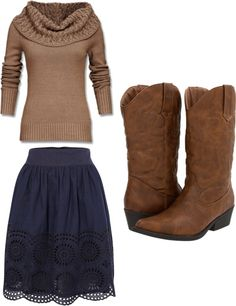 """dressy cowgirl"" by bluegrassbaby98 ❤ liked on Polyvore"