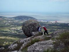Cerro Pan de Azúcar. Un poco de ejercicio y diversión.   ¡Salgan de abajo!