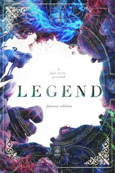 LEGEND - a just write journal Cover Design by Mae I Design
