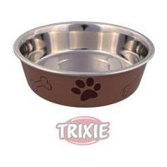 Tigela para cães de aço inoxidável - diâmetro 14 cm