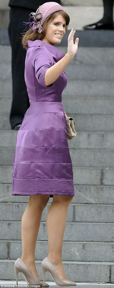 Princess Eugenie of York, St Paul's Cathedral - 04/06/12