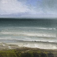 Monday Sea Waves, Paintings, Sky, The Originals, Artist, Outdoor, Heaven, Outdoors, Paint
