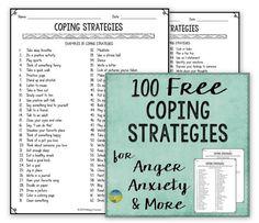 Coping Strategies FREE