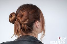 90s inspired #normcore hair tutorial - double buns