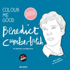 CMG Benedict Cumberbatch [There's a Cumberbatch coloring book TOO?]