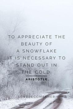 Seasonal Bucket List: Winter Wonderland | Winter quotes, Aristotle quotes, Weather quotes