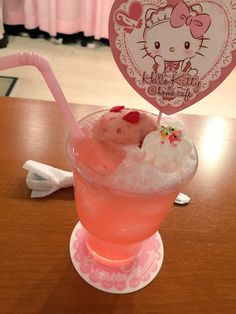 drink kawaii ✧ | Hello Kitty Fanatic | Pinterest