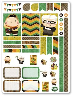 Explorador del desierto decoración Kit / extensión por PlannerPenny