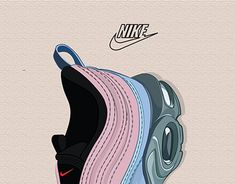 "Check out new work on my @Behance portfolio: ""Nike Air Max 97 Hybrid Illustration"" http://be.net/gallery/62502483/Nike-Air-Max-97-Hybrid-Illustration"