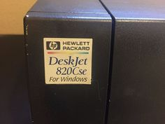 Non-working HP PRINTER 820 cse POWER CORD 8120-6836 PARALLEL CABLE 38011-80073 #HewlettPackard