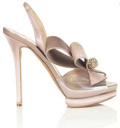 Nicholas Kirkwood Pre-Spring 2013 bow shoe platform sandal