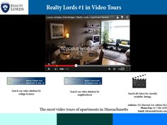As the industry leaders in providing our clients with extensive video tours, Realty Lords has the most video tours of rental listings in the New England area. Check out our website, and you can search through our database of available apartments!  Click here to search by neighborhood:http://realtylords.com/rentals-neighborhood-search-map/  Click here to search by college:http://realtylords.com/renters/boston-area-college-map/  Click here to see all available apartments:http://realtylords.c