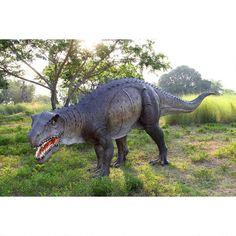 Grand Scale Postosuchus Dinosaur Statue