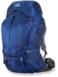 (Lacey's Pack, already purchased)  Winner of Backpacker magazine's 2015 Editors' Choice Gold Award, this extended-trip pack has a fully customizable suspension designed for women that creates a light and agile feel when fully loaded.