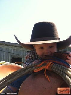 This ain't my first rodeo. #WranglerInTraining #LongLiveCowboys