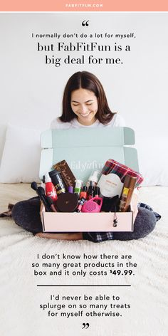 Try FabFitFun w/code HAPPY + get your first box for $39.99 plus FREE SHIPPING. Every box is delivered once a season with over $200 worth of full-size beauty, skincare, haircare, wellness, and accessories. See why we're the #1 full-size box!