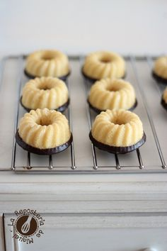 Mini Cakes de Coco