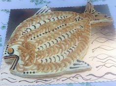 Fish party cake