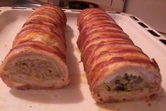 Hozzávalók:1 db őzgerinc formához: 6-7 szelet karaj, 1/2 kg darált hús,2 szikkadt zsemle, 4 tojás, 20 dkg...