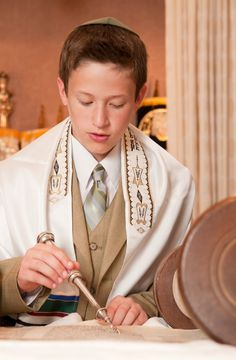 """""""Bar and Bat Mitzvahs are fundamentally Jewish coming of age rituals which symbolically mark passage into adulthood. Jewish young people celebrate Bar Mitzvahs and Bat Mitzvahs with their families as they enter into puberty. Boys celebrate Bar Mitzvahs at the age of thirteen, whereas girls celebrate their Bat Mitzvahs a little earlier at age twelve."""""""