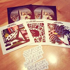 Cut Copy vinyl came in recently! You'll have your chance to grab some of these babies when they're at the Jefferson, June 6th!