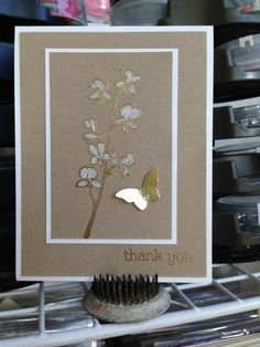 Simple Elegance in Gold by sharaiel - Cards and Paper Crafts at Splitcoaststampers