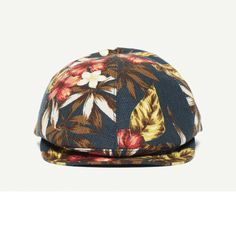 d79944bdccbfb The Cool Pool Blue Cotton Ivy hat front view Flat Cap