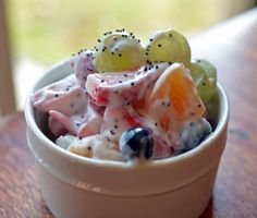 Super Poppy Seed Fruit Salad | Healthy Ideas for Kids