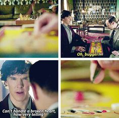 that moment when we all thought that they were playing chess. And then it got better!!!